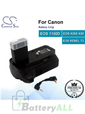 CS-NIK110BN For Canon Battery Grip EOS 1100D / EOS KISS X50 / EOS REBEL T3