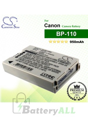 CS-BP110MC For Canon Camera Battery Model BP-110