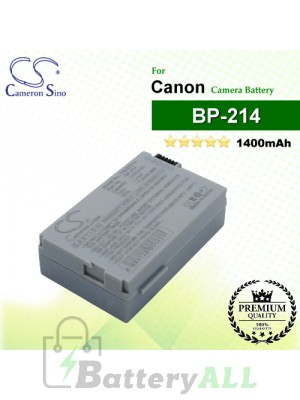CS-BP214 For Canon Camera Battery Model BP-214
