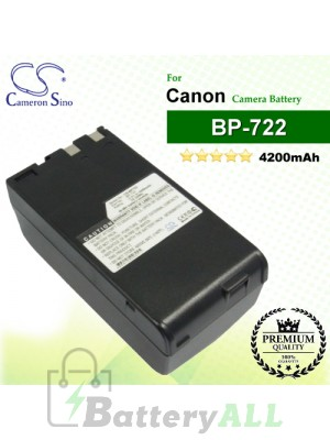 CS-BP722 For Canon Camera Battery Model BP-722