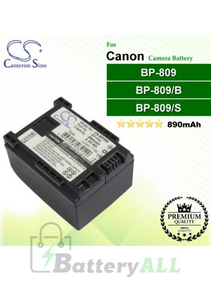 CS-BP809 For Canon Camera Battery Model BP-809 / BP-809/B / BP-809/S