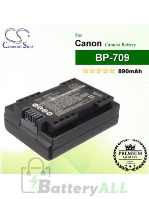 CS-BP809MC For Canon Camera Battery Model BP-709