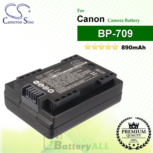 CS-BP809MC For Canon Camera Battery Model BP-709