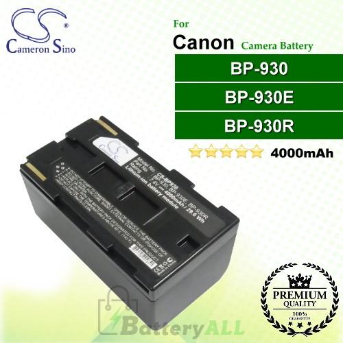 CS-BP930 For Canon Camera Battery Model BP-930 / BP-930E / BP-930R