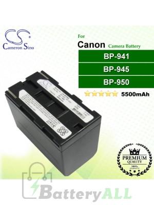CS-BP945 For Canon Camera Battery Model BP-941 / BP-945