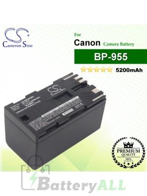 CS-BP955MX For Canon Camera Battery Model BP-955