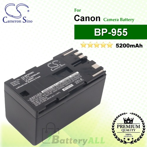 CS-BP955MX For Canon Camera Battery Model BP-955