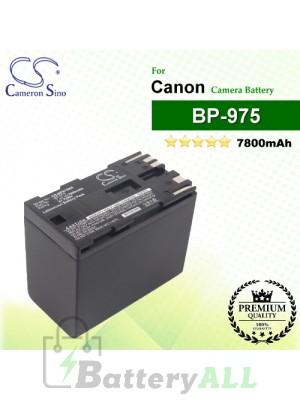 CS-BP975MX For Canon Camera Battery Model BP-975