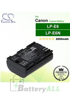 CS-CPN600MX For Canon Camera Battery Model LP-E6N