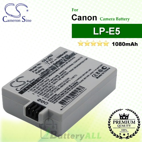 CS-LPE5 For Canon Camera Battery Model LP-E5