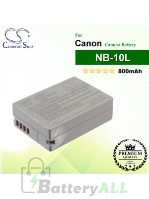 CS-NB10L For Canon Camera Battery Model NB-10L