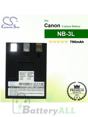 CS-NB3L For Canon Camera Battery Model NB-3L