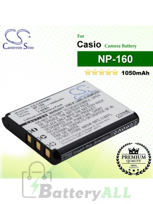 CS-CZR50MC For Casio Camera Battery Model NP-160