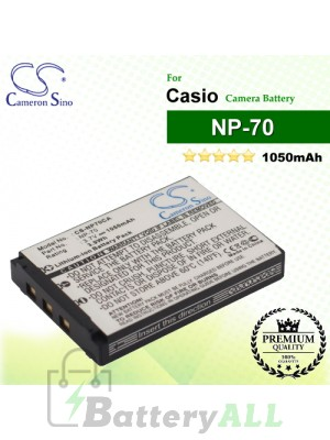 CS-NP70CA For Casio Camera Battery Model NP-70