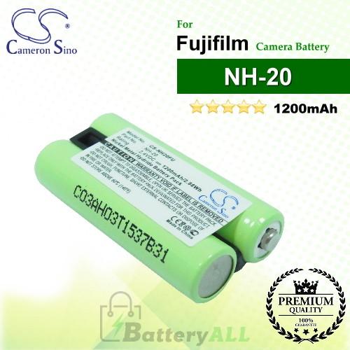 CS-NH20FU For Fujifilm Camera Battery Model NH-20