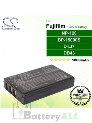 CS-NP120FU For Fujifilm Camera Battery Model NP-120