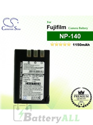 CS-NP140FU For Fujifilm Camera Battery Model NP-140