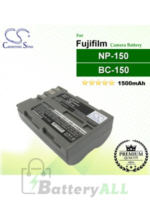 CS-NP150FU For Fujifilm Camera Battery Model BC-150 / NP-150