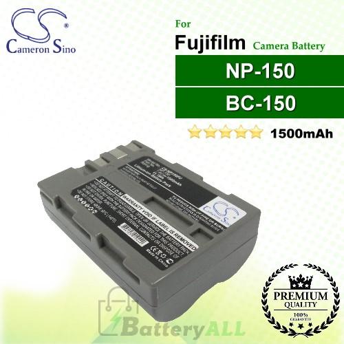 CS-NP150FU For Fujifilm Camera Battery Model BC-150 / NP-150