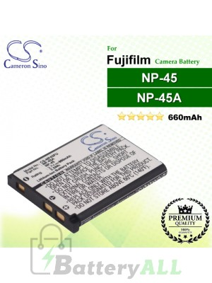 CS-NP45FU For Fujifilm Camera Battery Model NP-45 / NP-45A / NP-45B / NP-45S