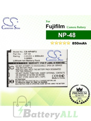 CS-NP48FU For Fujifilm Camera Battery Model NP-48