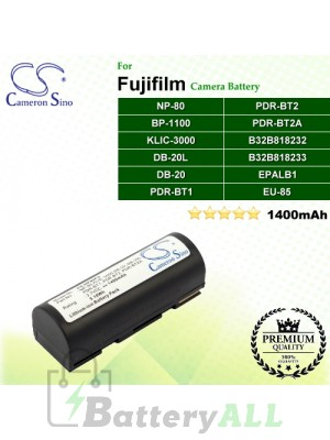 CS-NP80FU For Fujifilm Camera Battery Model NP-80