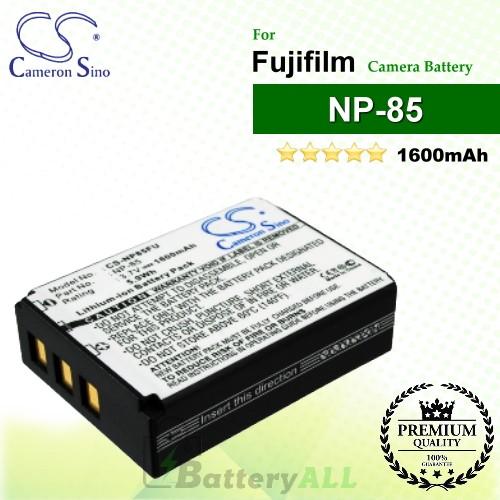 CS-NP85FU For Fujifilm Camera Battery Model NP-85