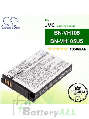 CS-JBH105MC For JVC Camera Battery Model BN-VH105 / BN-VH105US