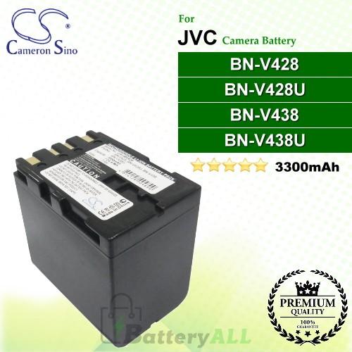 CS-JBV428 For JVC Camera Battery Model BN-V428 / BN-V428U / BN-V438 / BN-V438U