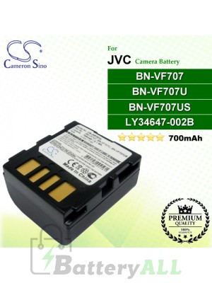 CS-JVF707U For JVC Camera Battery Model BN-VF707 / BN-VF707U / BN-VF707US / LY34647-002B