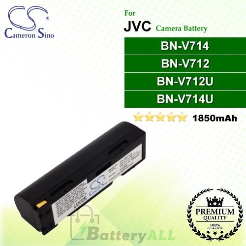 CS-JVF712U For JVC Camera Battery Model BN-V712 / BN-V712U / BN-V714 / BN-V714U