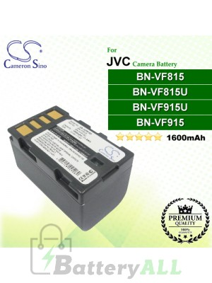 CS-JVF815D For JVC Camera Battery Model BN-VF815 / BN-VF815U / BN-VF915 / BN-VF915U