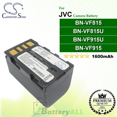 CS-JVF815D For JVC Camera Battery Model BN-VF815 / BN-VF815U / BN-VF915 / BN-VF915U