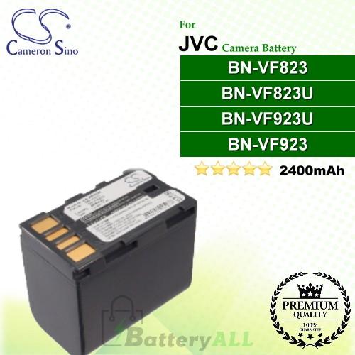CS-JVF823D For JVC Camera Battery Model BN-VF823 / BN-VF823U / BN-VF923 / BN-VF923U