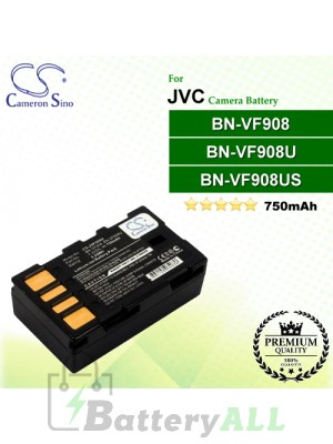 CS-JVF908U For JVC Camera Battery Model BN-VF908 / BN-VF908U / BN-VF908US