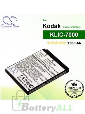 CS-KLIC7000 For Kodak Camera Battery Model KLIC-7000