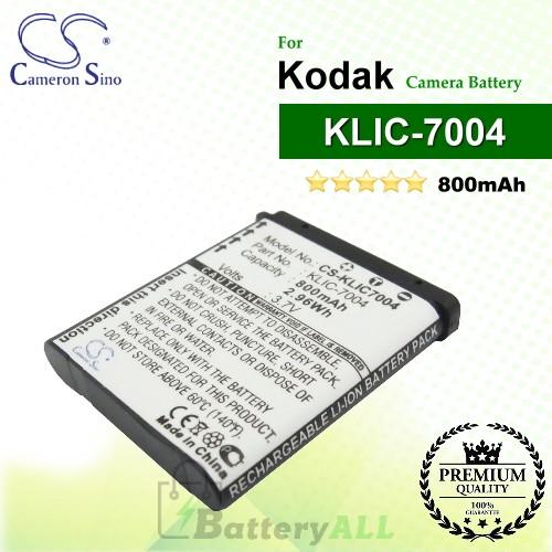 CS-KLIC7004 For Kodak Camera Battery Model KLIC-7004
