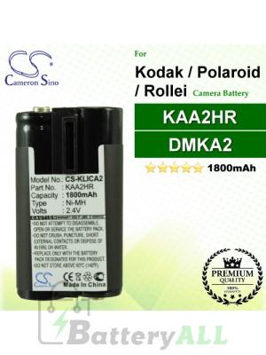 CS-KLICA2 For Kodak Camera Battery Model B-9576 / DMKA2 / KAA2HR