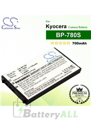 CS-BP780 For Kyocera Camera Battery Model BP-780S