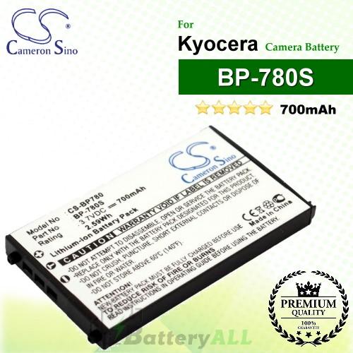 CS-BP780 For Kyocera Camera Battery Model BP-780S