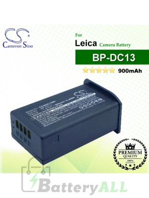 CS-BDC13MC For Leica Camera Battery Model BP-DC13