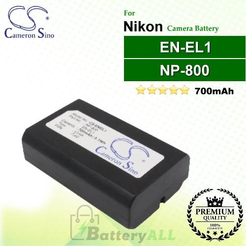 CS-ENEL1 For Nikon Camera Battery Model EN-EL1
