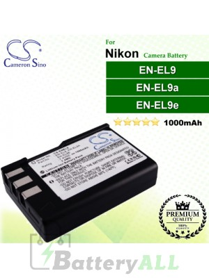 CS-ENEL9 For Nikon Camera Battery Model EN-EL9 / EN-EL9A / EN-EL9E