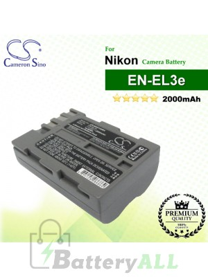 CS-NKD100MX For Nikon Camera Battery Model EN-EL3e