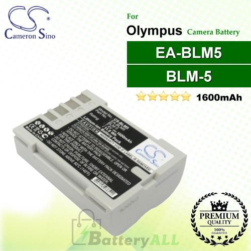 CS-BLM5 For Olympus Camera Battery Model BLM-5 / EA-BLM5
