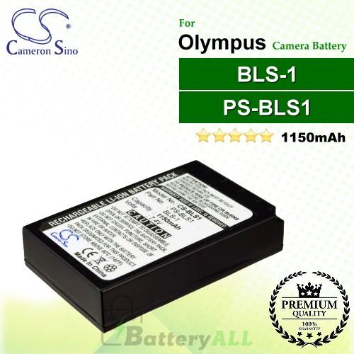 CS-BLS1 For Olympus Camera Battery Model BLS-1 / PS-BLS1