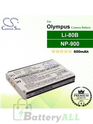 CS-NP900 For Olympus Camera Battery Model Li-80B