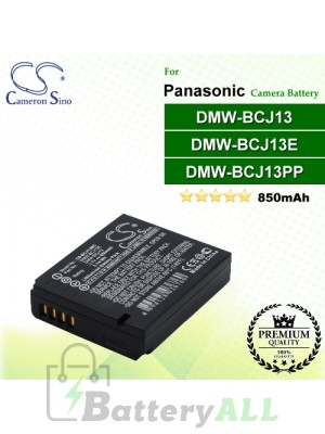 CS-BCJ13MC For Panasonic Camera Battery Model DMW-BCJ13 / DMW-BCJ13E / DMW-BCJ13PP