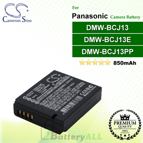 CS-BCJ13MC For Panasonic Camera Battery Model DMW-BCJ13 / DMW-BCJ13E / DMW-BCJ13PP