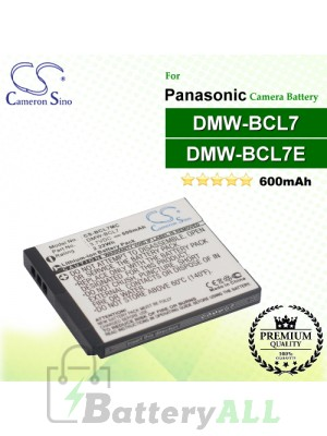 CS-BCL7MC For Panasonic Camera Battery Model DMW-BCL7 / DMW-BCL7E